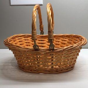 """Other - 11.5"""" x 8.5"""" wicker basket"""